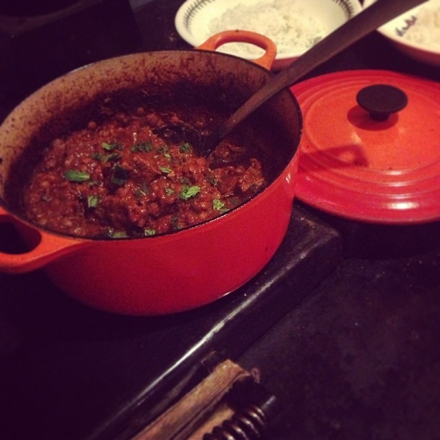 Penny's Persian Beef and lentil stew!