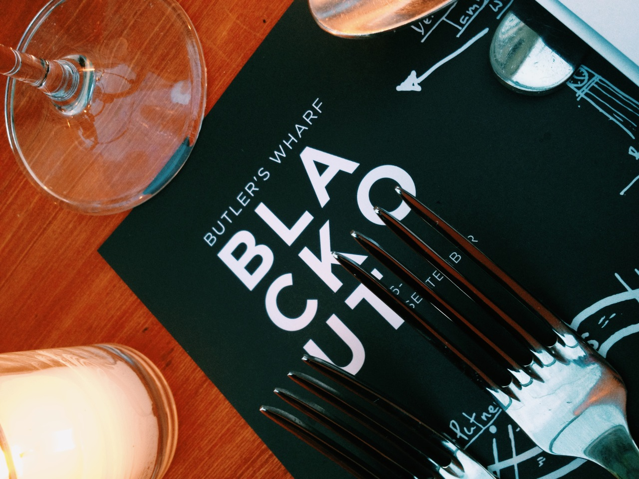 blackout banquet