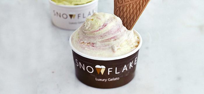 snowflake luxury gelato