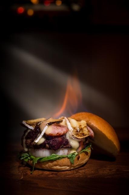 Flambe Burger 2
