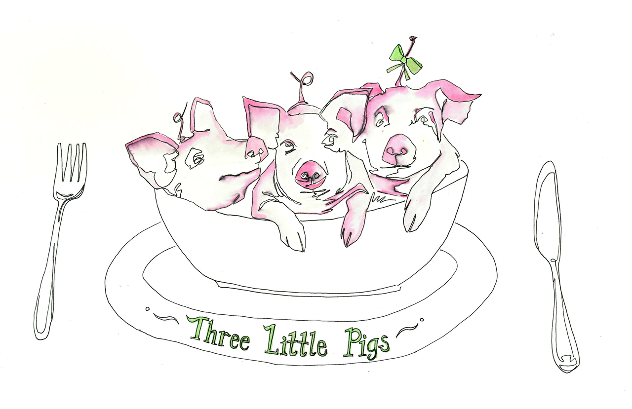 Tommy Boland_Almeida_Three Little Pigs_Mains