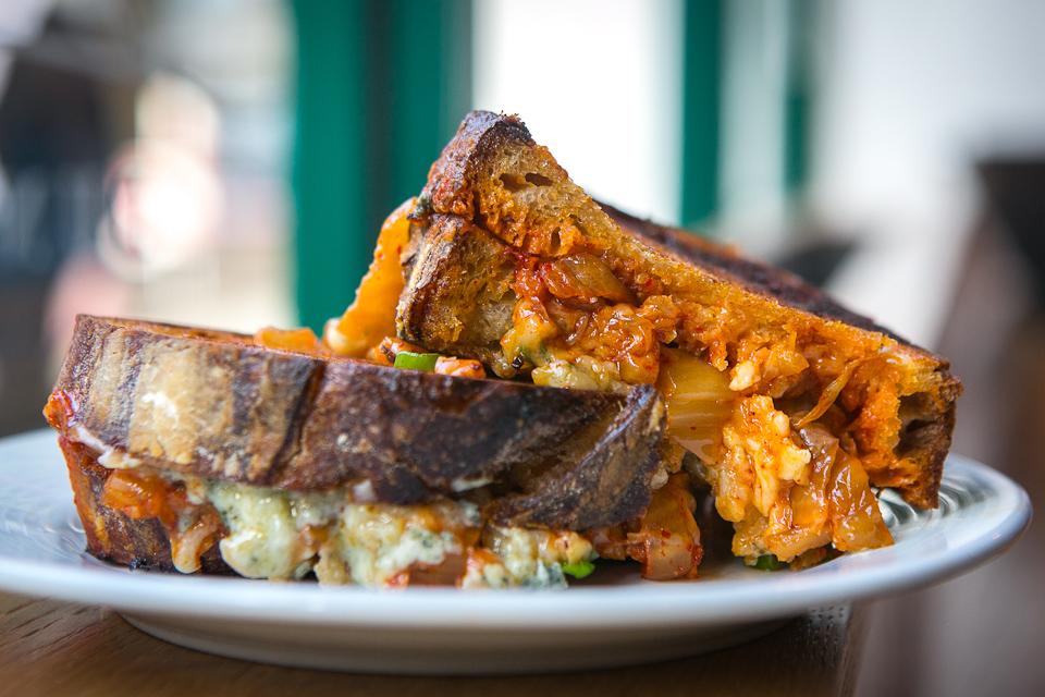 F.A.T. Kimchi & Stilton Sandwich