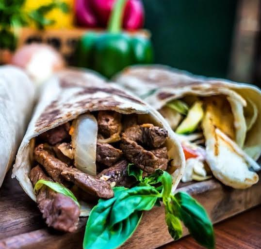 Brazilian Beef Wrap