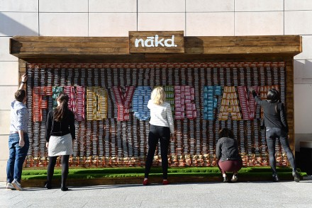 Nākd edible billboard