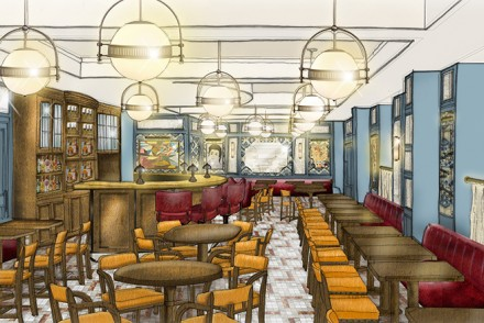 The-Ivy-Cafe,-Marylebone-Rendering-Image