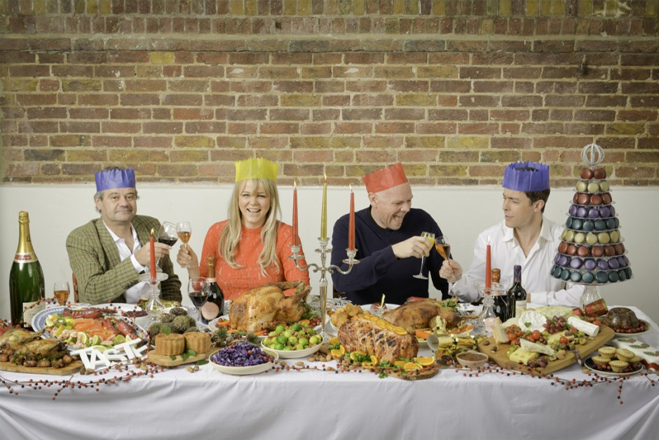 Edit - Mark Hix, Sophie Michell, Tom Kerridge, Pascal Aussignac celebrate Taste of London with the ultimate festive feast.02