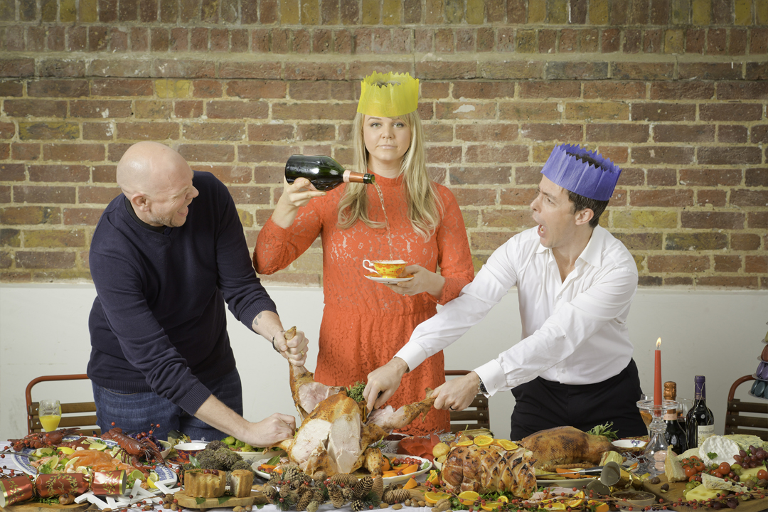 Edit - Sophie Michell, Tom Kerridge, Pascal Aussignac celebrate Taste of London with the ultimate festive feast.04