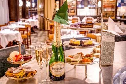 Perrier Jouet Champagne Afternoon Tea at The Ivy Kensington Brasserie