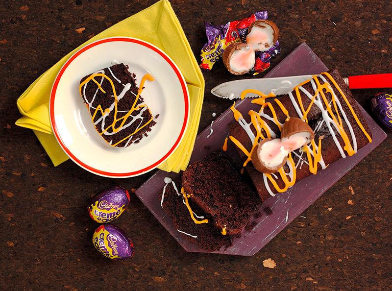 Creme Egg Drizzle Cake