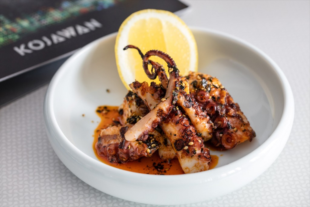 Wood Fried Octopus, lemon and smoked paprika EDIT