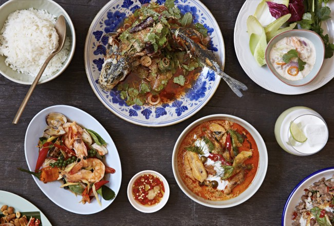 Selection of dishes edit