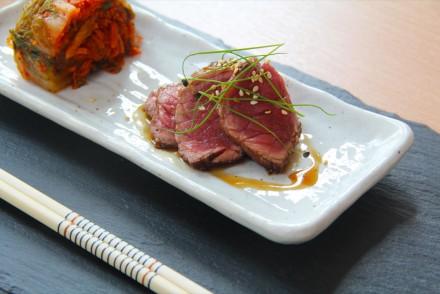 Beef teriyakii kimchi edit