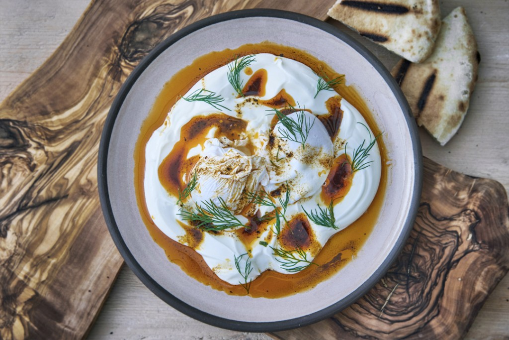 Strut&Cluck Turkish Poached Eggs