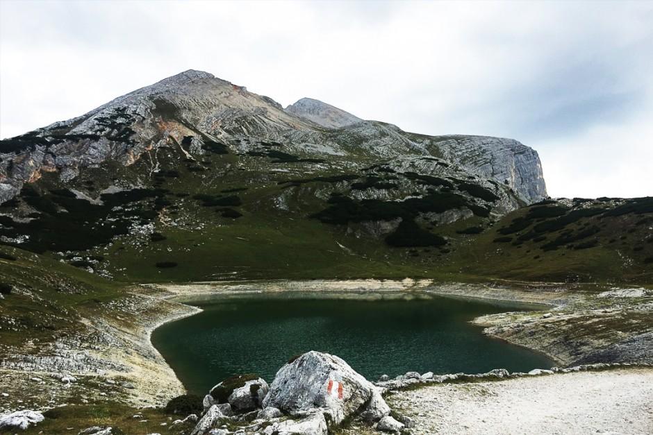 dolomite-lake