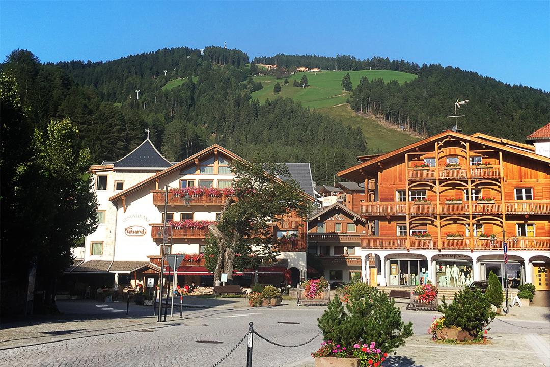dolomite-village
