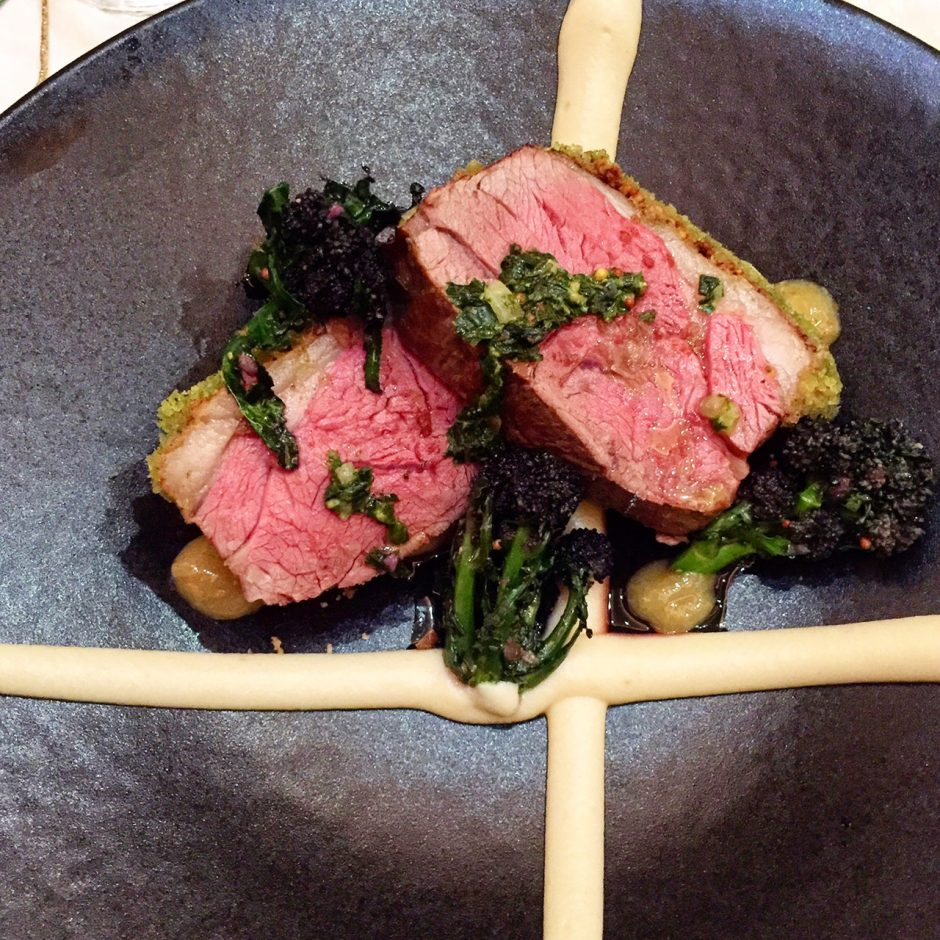 M&S Hot Cross Bun Crusted Lamb Rack
