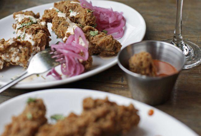 Vegan Fried Chicken - Club Mexicana