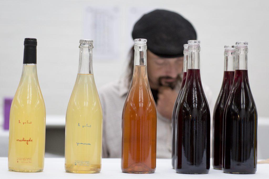 RAW Wine bottles - credit Tom Moggach