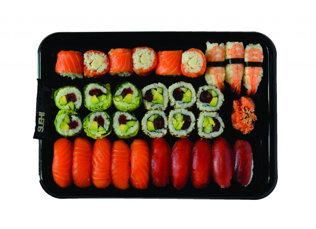 Sushi Gourmet - 33 Gourmet Menu CMYK