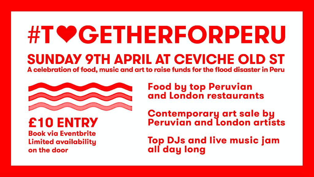Ceviche #TogetherforPeru