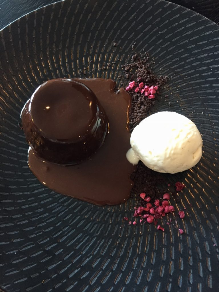 Sea Containers Chocolate Lava Cake