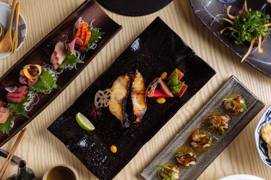 Ginza Onodera - Black Cod and Sashimi