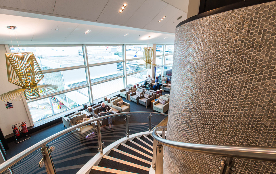 British Airways Gatwick South Terminal New Lounge