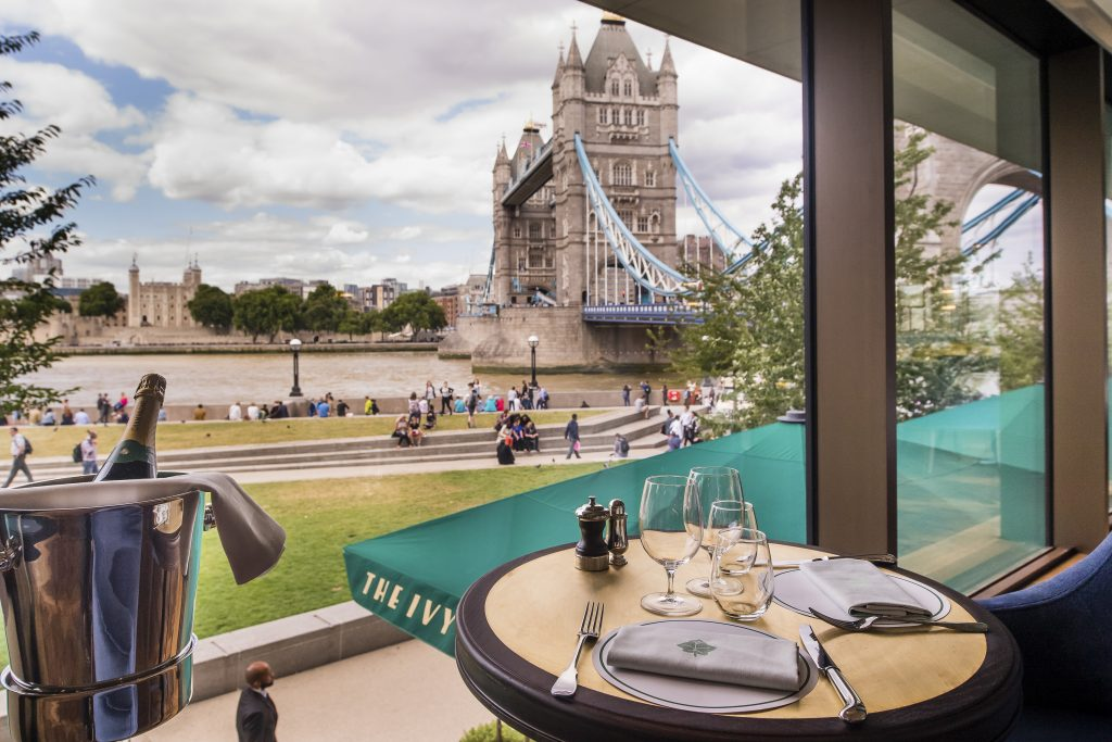 The Ivy Tower Bridge London Reviews And Things To Do