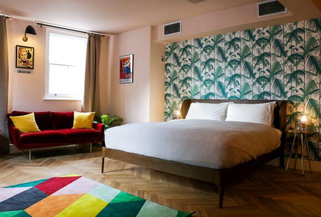 The Napoleon Hotel bedroom