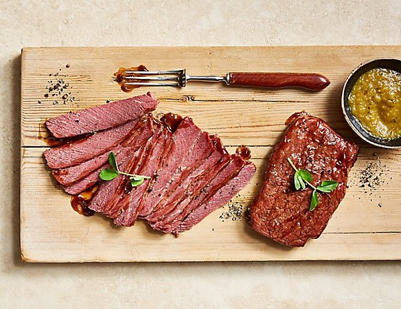 M&S stout glazed salt beef
