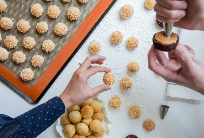 Alain Ducasse at The Dorchester - The Art of Choux Masterclass