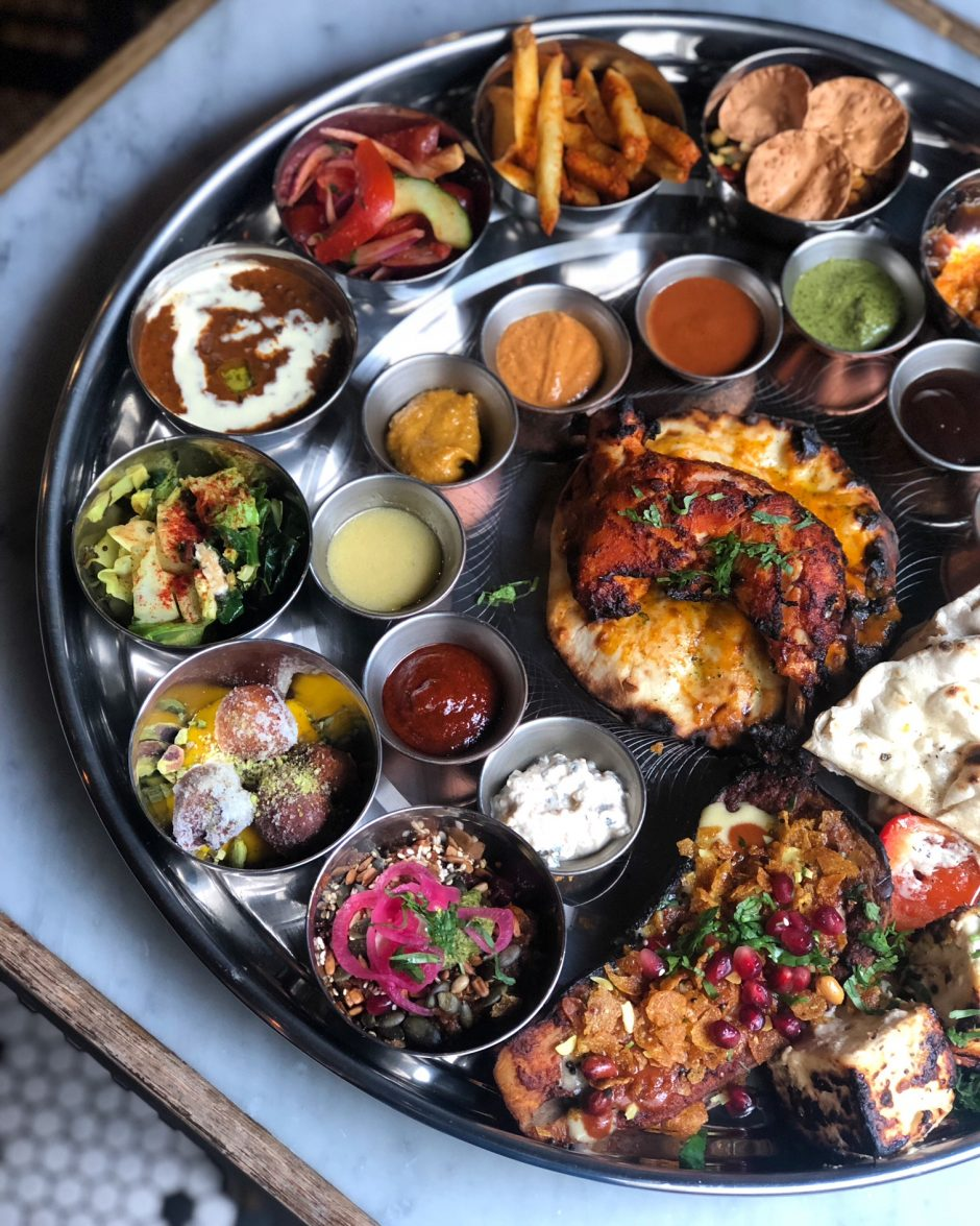 Tandoor Chop House Sunday Mighty Thali