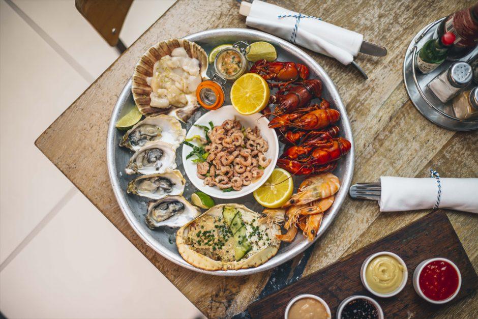 London Restaurant Reviews Fish Market