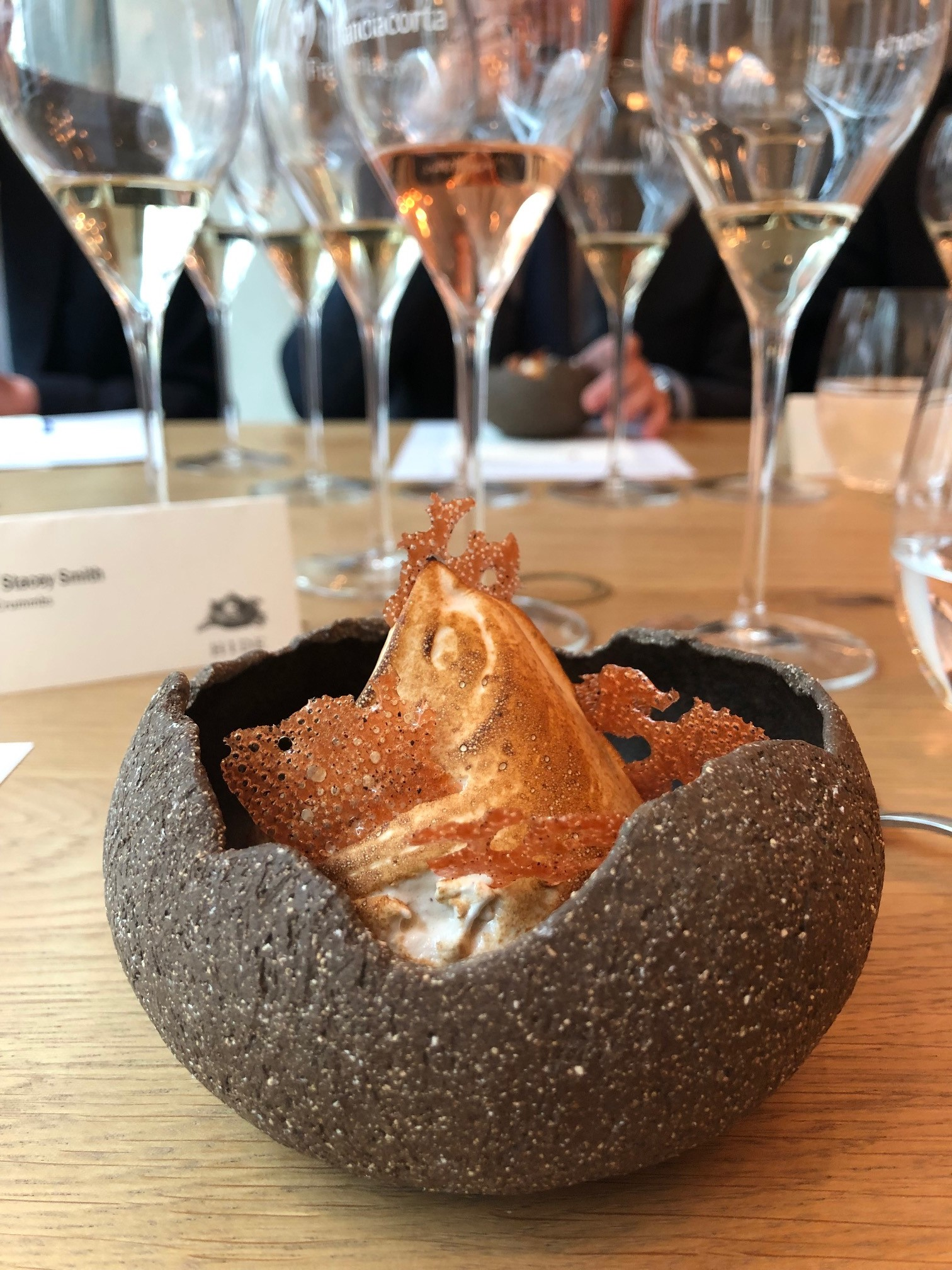 Crummbs London Restaurant Reviews HIDE, Mayfair Franciacorta