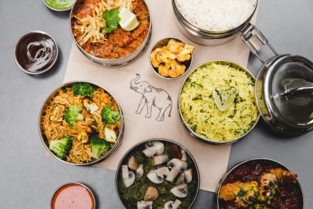 Worker's Tiffin Lunch at Gunpowder Crummbs London Restaurant Reviews