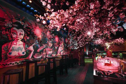 Sakura at Shochu ROKA