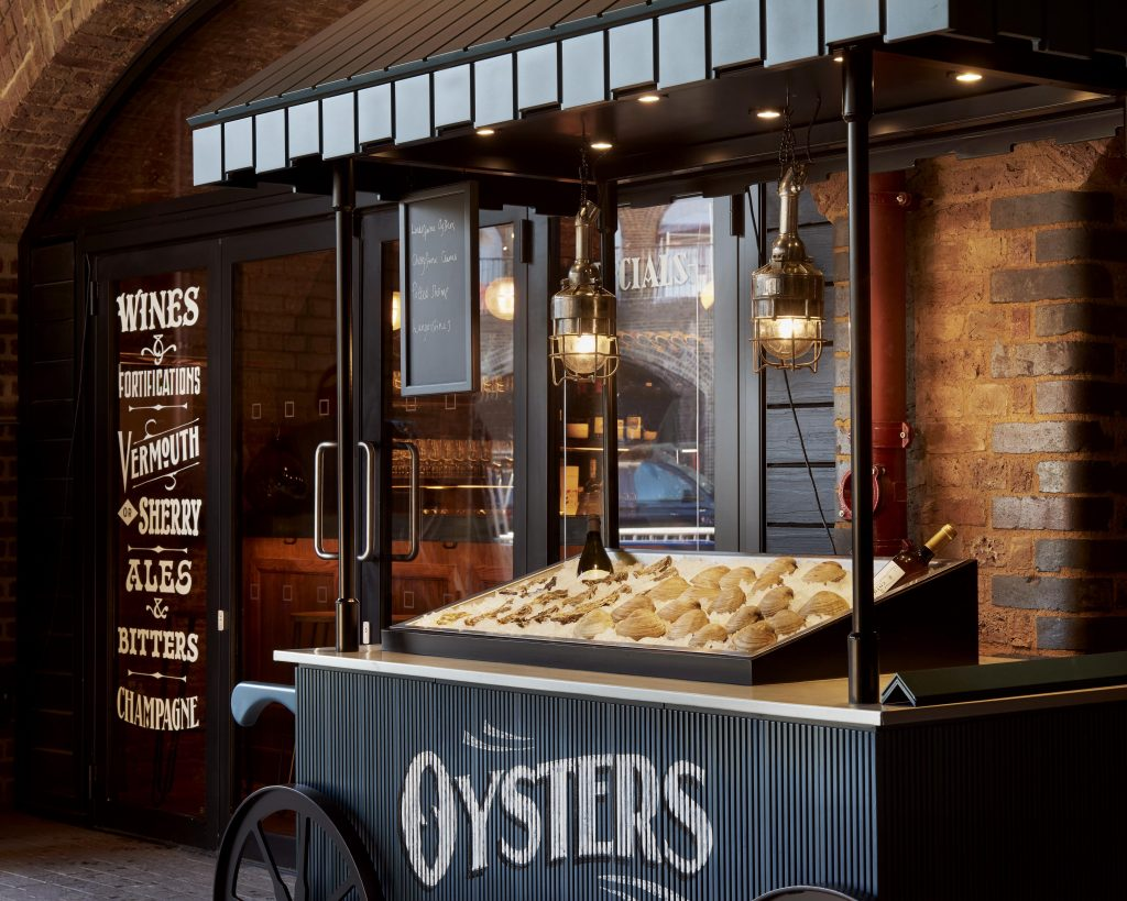 The Drop Oyster Cart