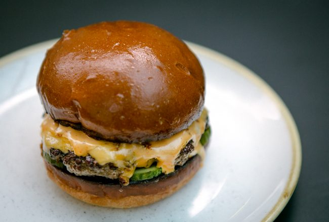 Four Legs at The Compton Arms Burger