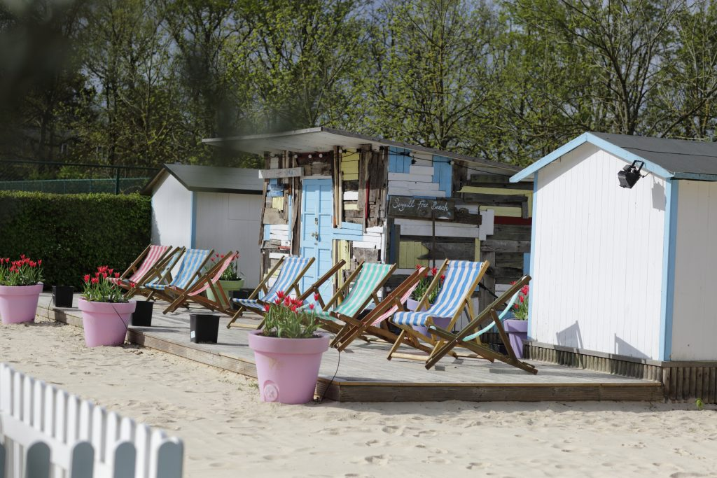 The Beach and Beach Hut at The Grove