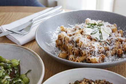 The Corner Restaurant, Selfridges - Hand made macaroni pork ragu