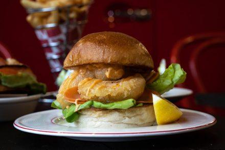 BOB'S Lobster Soft Launch Sandwich