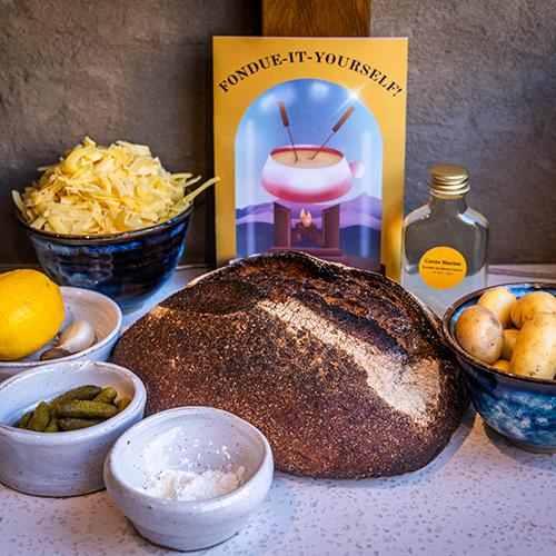 The Cheese Bar Fondue it Yourself Kit