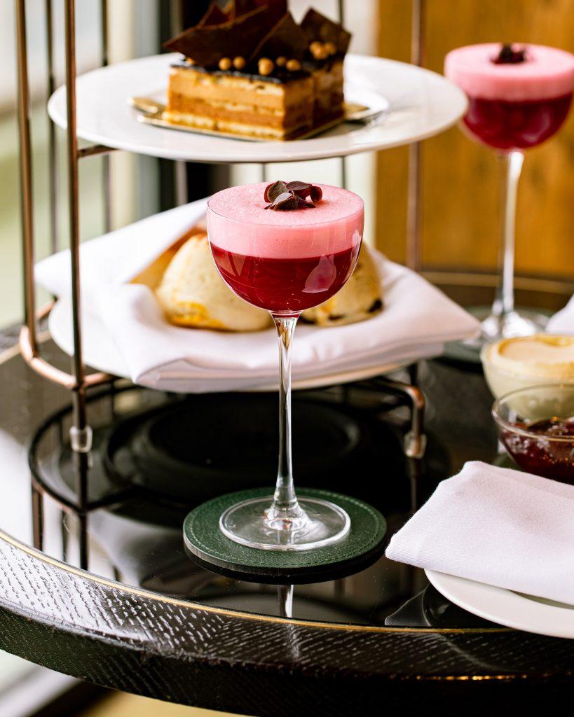 Galvin at Windows Afternoon Tea at 10º Bar