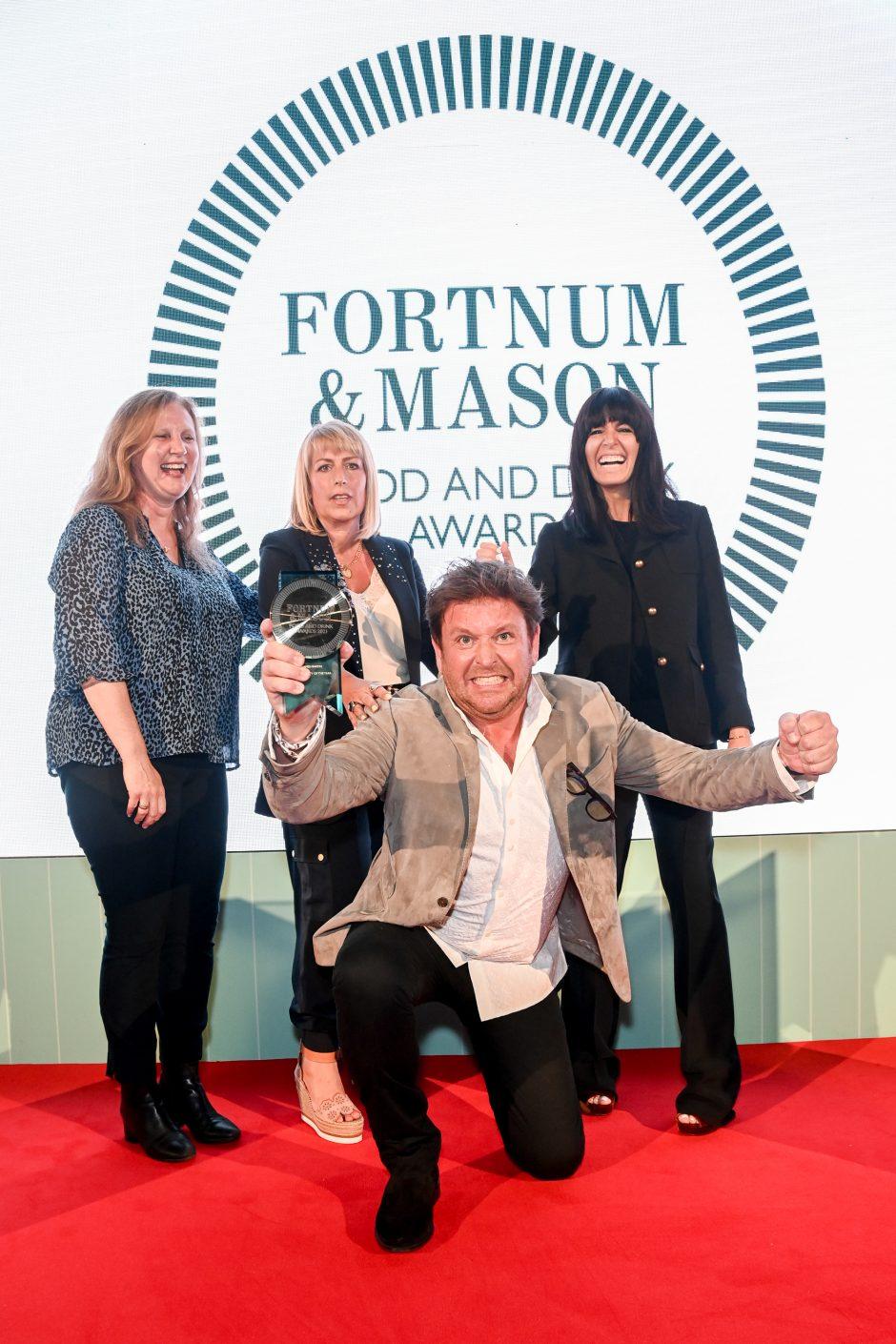 Fortnum & Mason Food and Drink Awards 2021